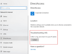 DirectAccess Troubleshooting
