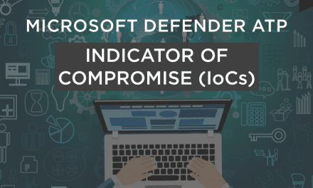 Microsoft Defender ATP Indicators of Compromise IoC explained