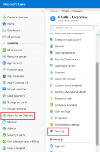Azure Active Directory passwordless Security
