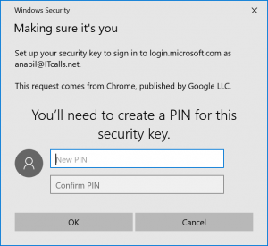 Passwordless Cloud Authnetication PIN second factor MFA
