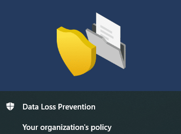 Step by Step applying Microsoft Data Loss Prevention on data copied to USB